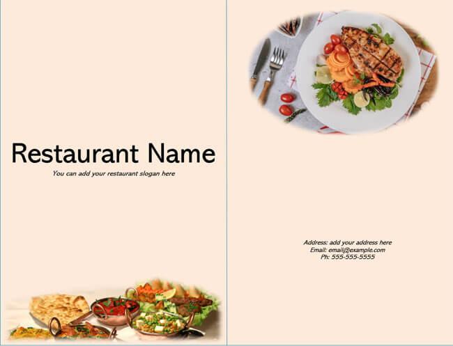 Restaurant Menu Template 15