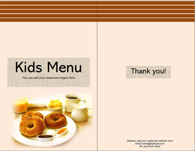 Restaurant Menu Template 18