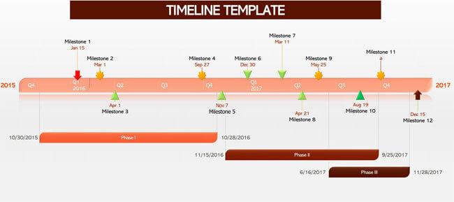 Timeline PowerPoint Template 01