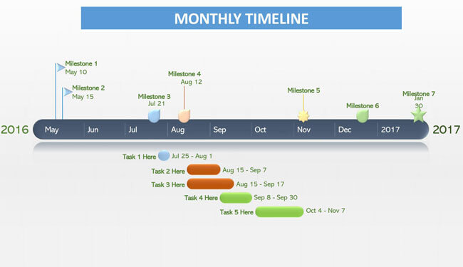 Timeline PowerPoint Template 05