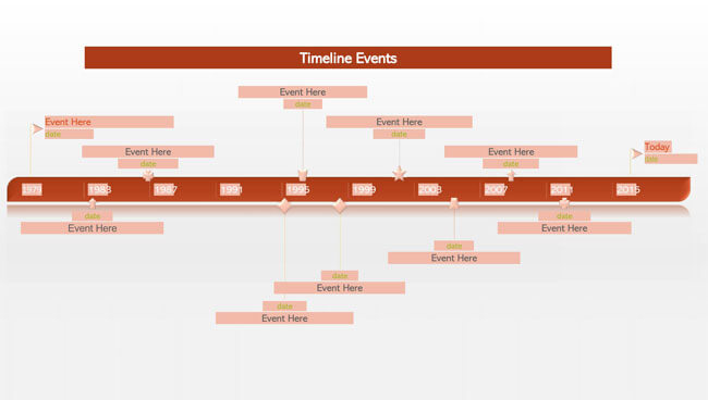 Timeline PowerPoint Template 09