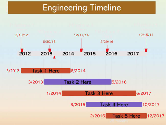 Timeline PowerPoint Template 11