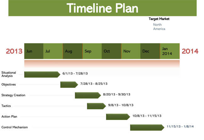 Timeline PowerPoint Template 14