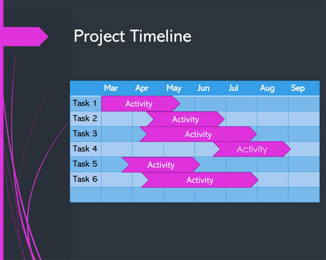 Timeline PowerPoint Template 17