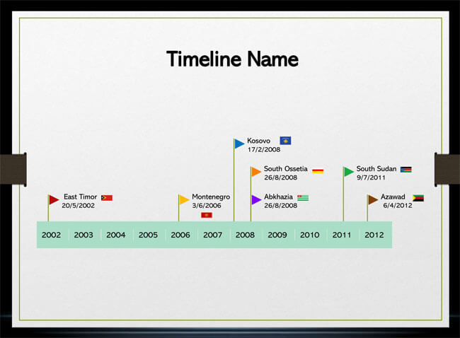 Timeline PowerPoint Template 23