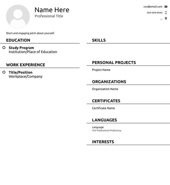 Administrative Assistant Resume Template 09