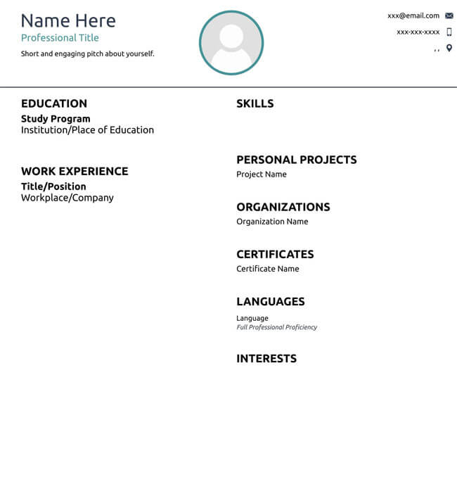 Administrative Assistant Resume Template 10