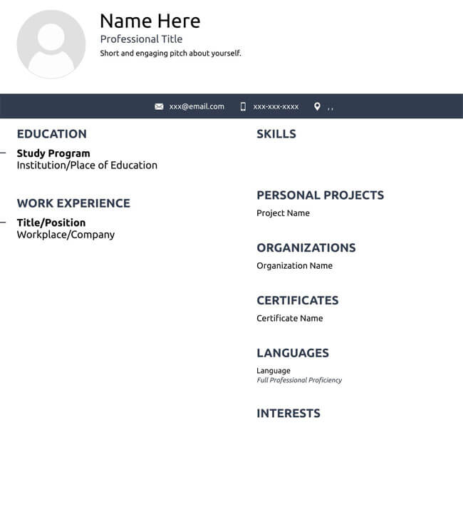 Administrative Assistant Resume Template 11