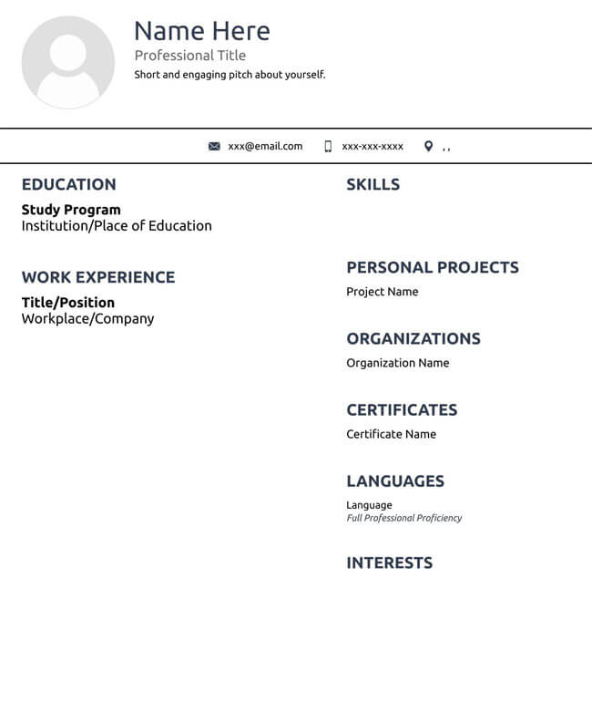 Administrative Assistant Resume Template 12