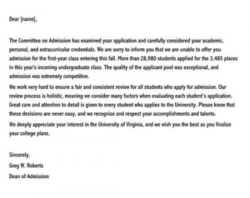 how to respond to a college rejection letter 01