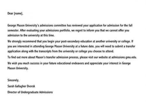 college rejection letter simulator 02
