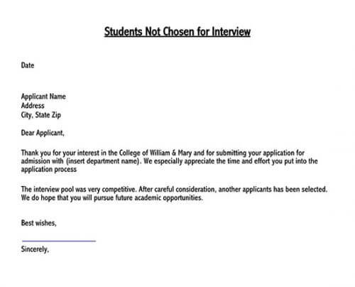 private school rejection letter sample 02