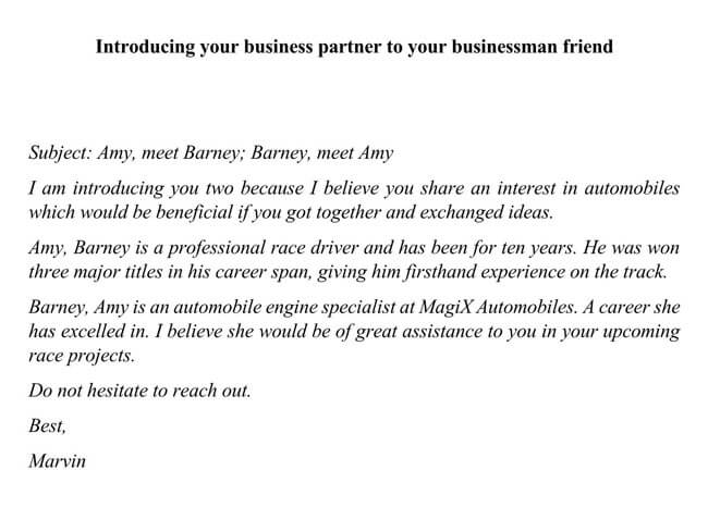 Introducing Your Business Partner to Your Businessman Friend 01