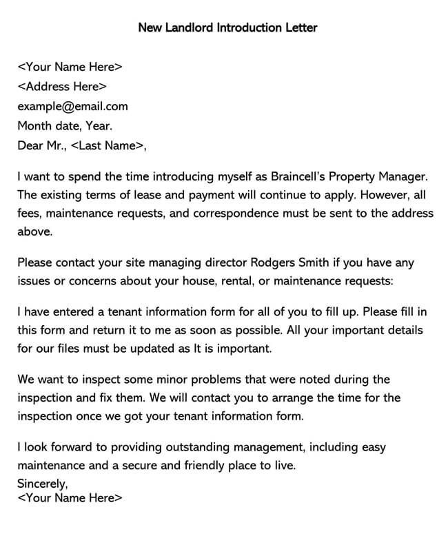 New Landlord Introduction Letter 01