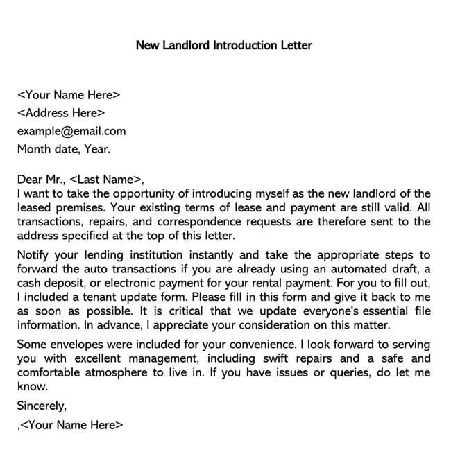 New Landlord Introduction Letter 02