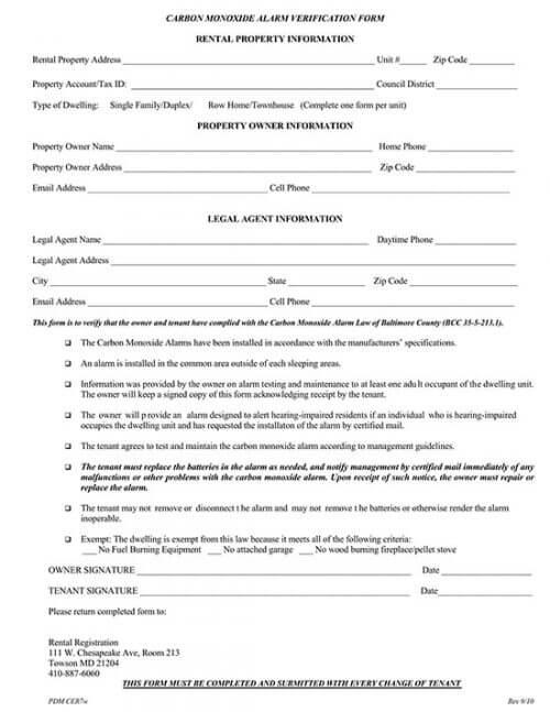 rental verification form texas 02