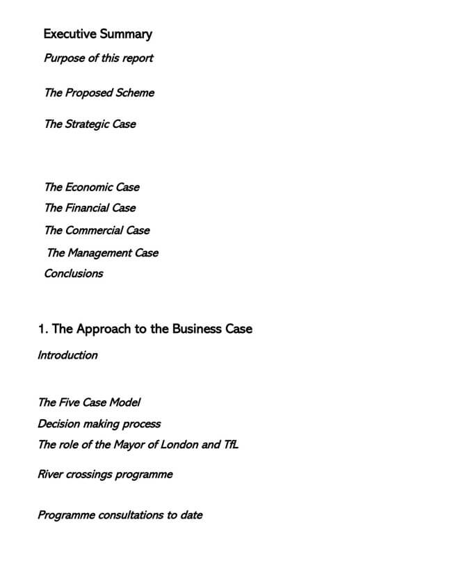 Business Case Template 18
