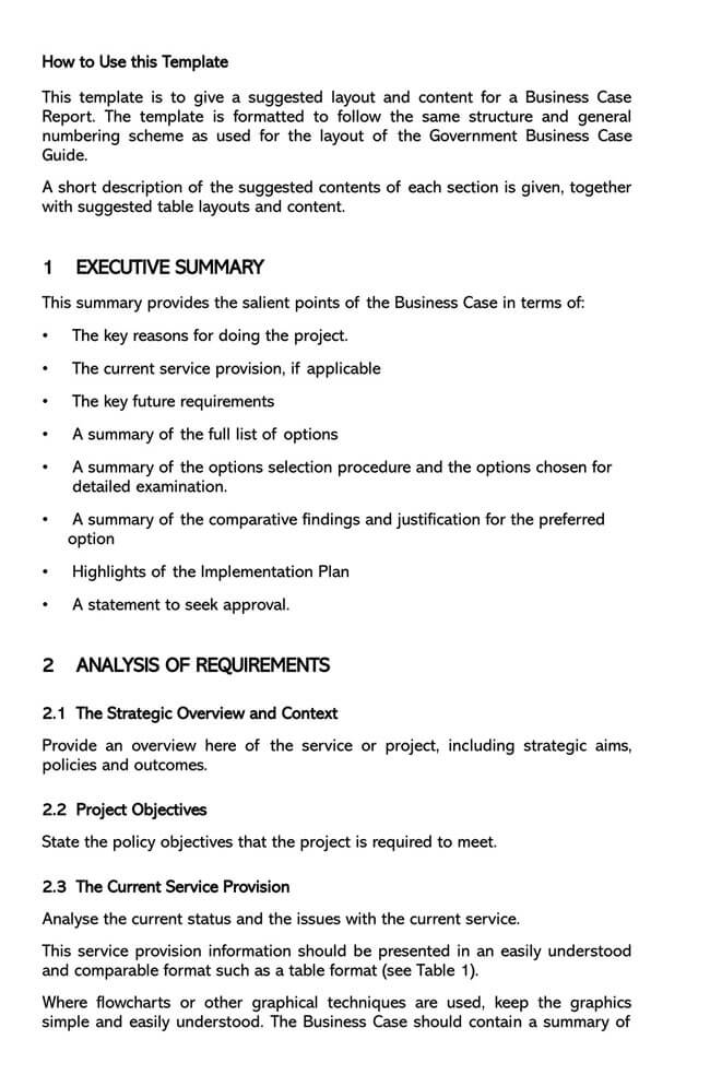 Business Report Template 13