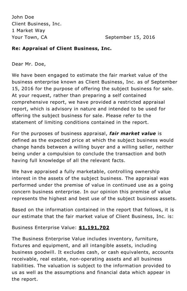 Business Report Template 20
