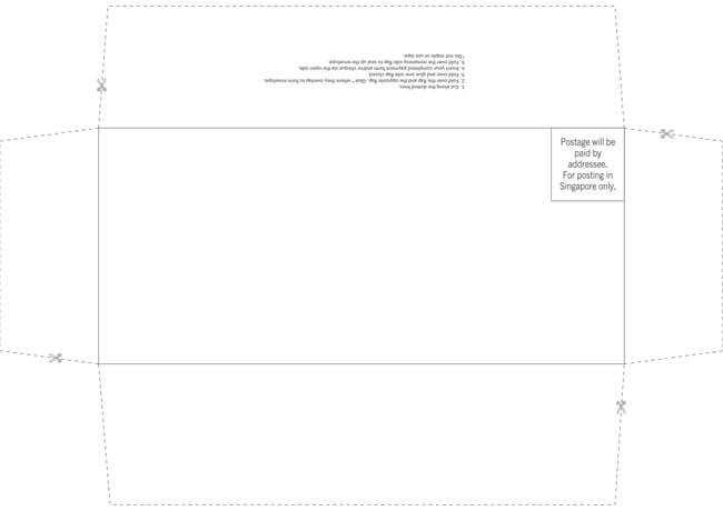 Envelope Template 01