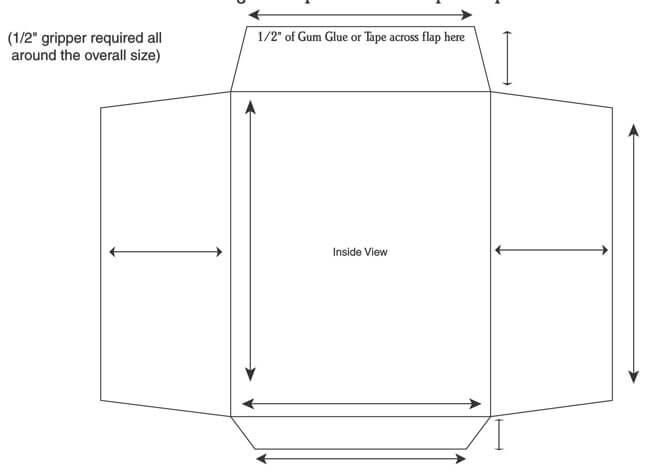 Envelope Template 03