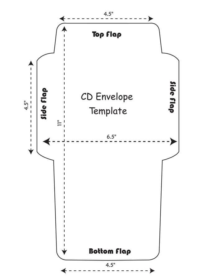 Envelope Template 04