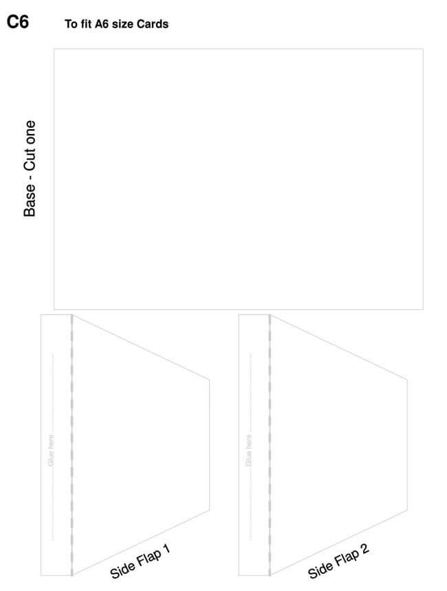 Envelope Template 07