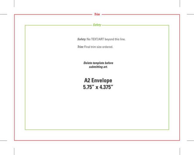 Envelope Template 15