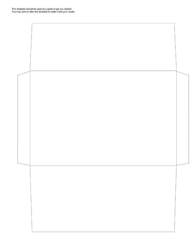 Envelope Template 17