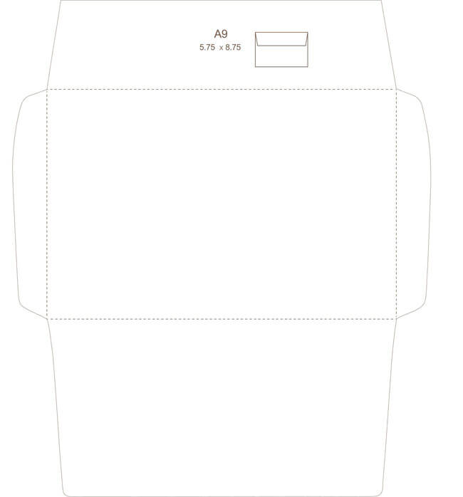 Envelope Template 19