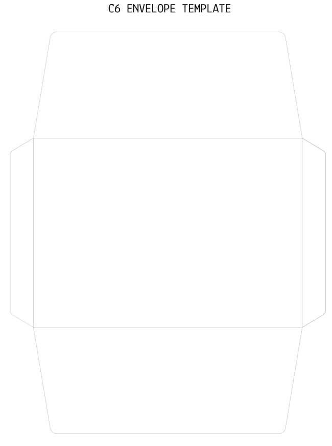 Envelope Template 24