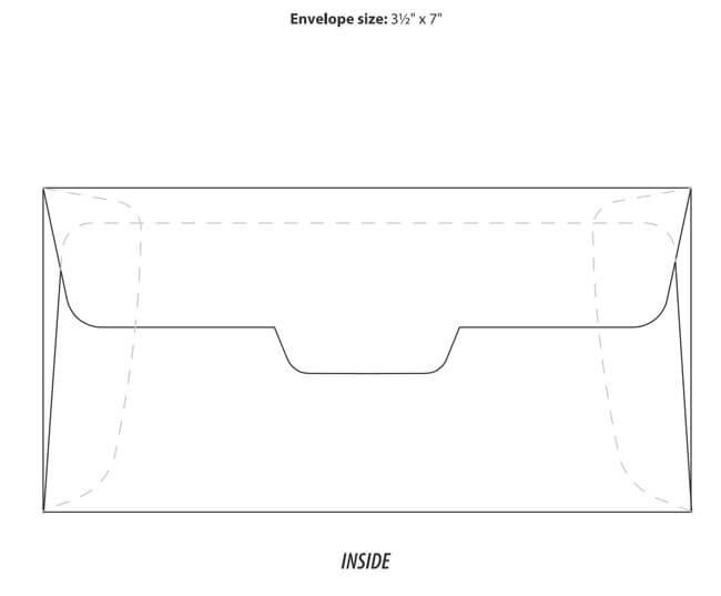 Envelope Template 26