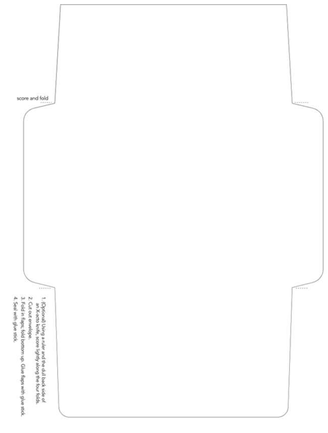 Envelope Template 33