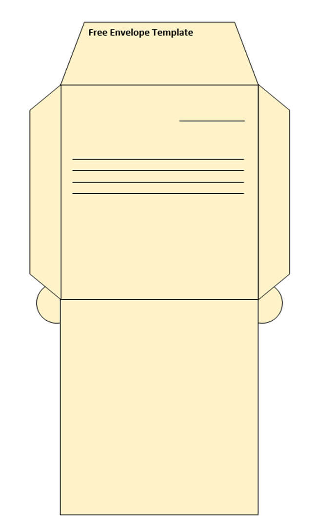 Envelope Template 42