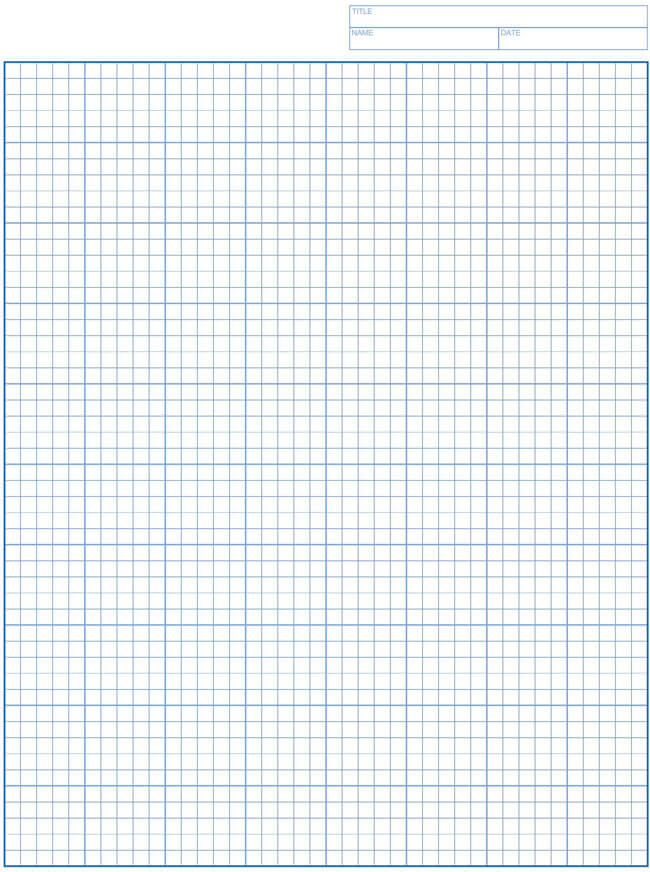 Graph Paper Template 05