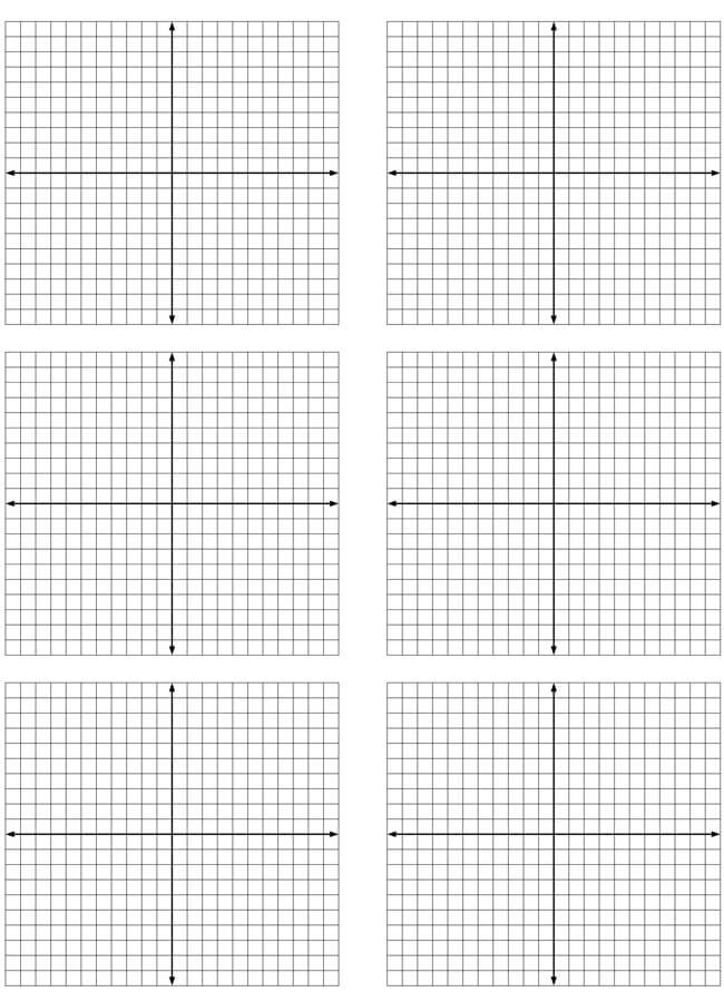 Graph Paper Template 07