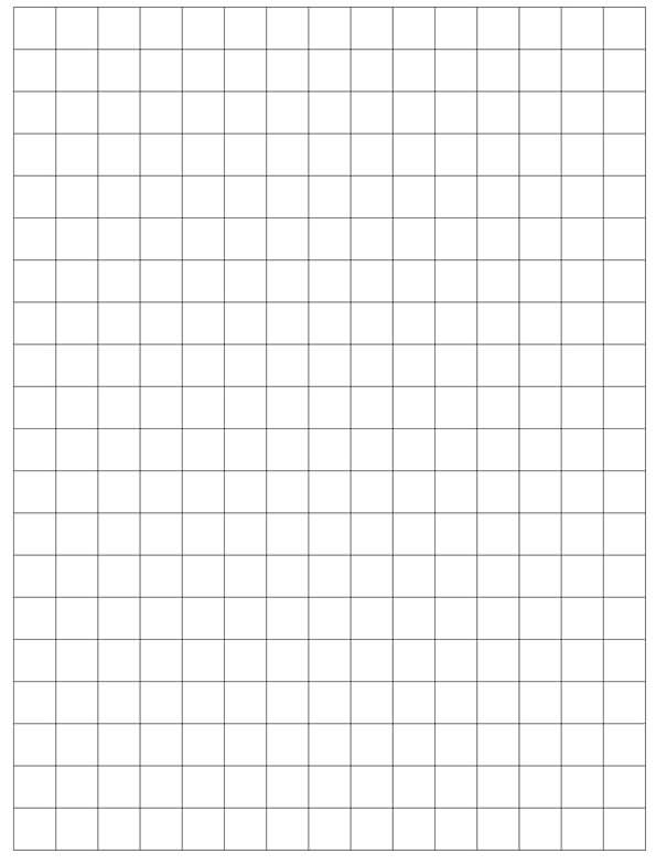 Graph Paper Template 13