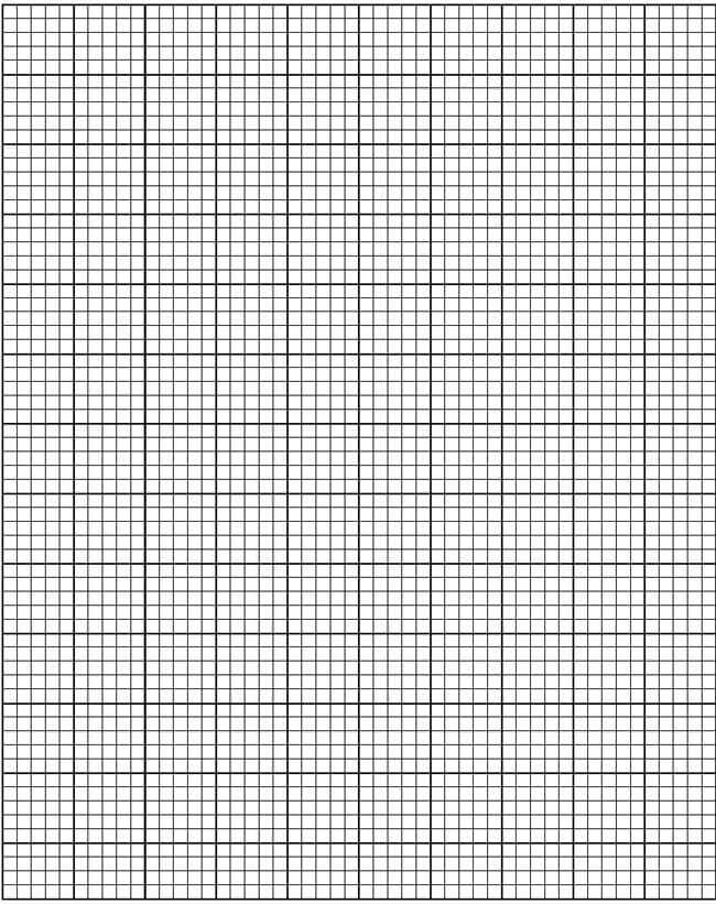 Graph Paper Template 14