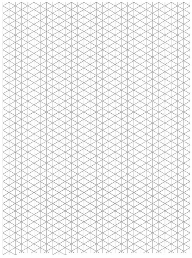 Isometric Quarter Graph