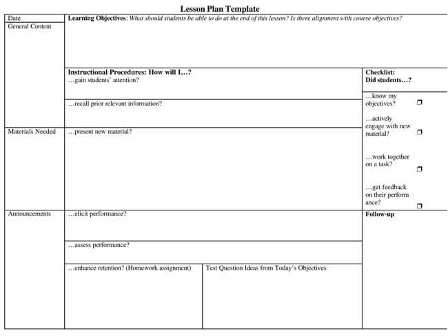 Lesson Plan Template 04