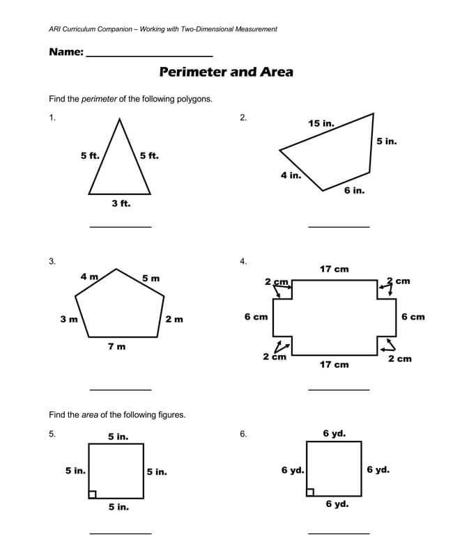 Pythagorean Theorem Worksheet 22