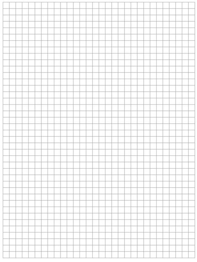 Quad Quarter Ruled Graph