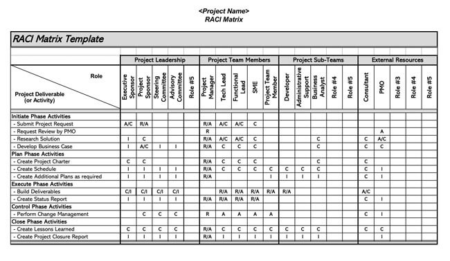 RACI Chart 03