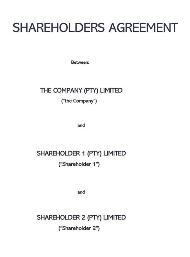 Shareholder Agreement 02