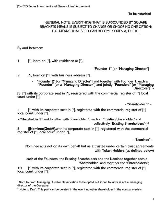 Shareholder Agreement 03
