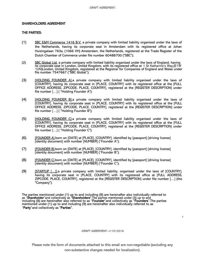 Shareholder Agreement 05