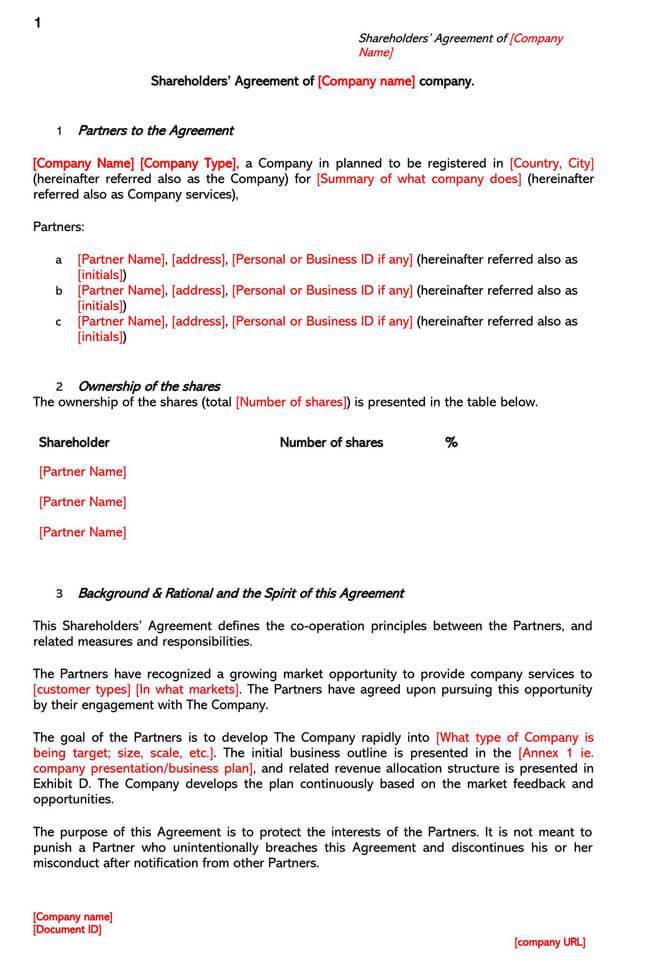 Shareholder Agreement 06