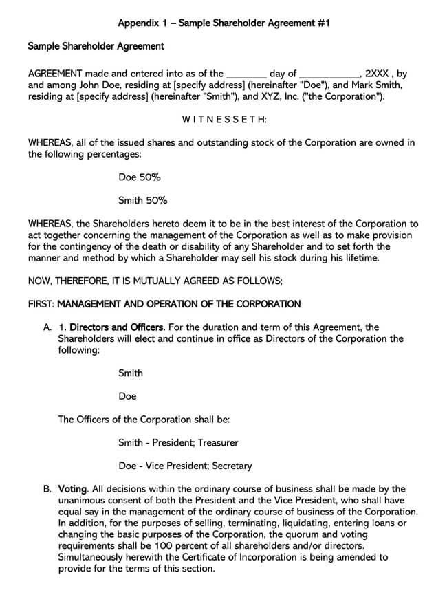 Shareholder Agreement 08