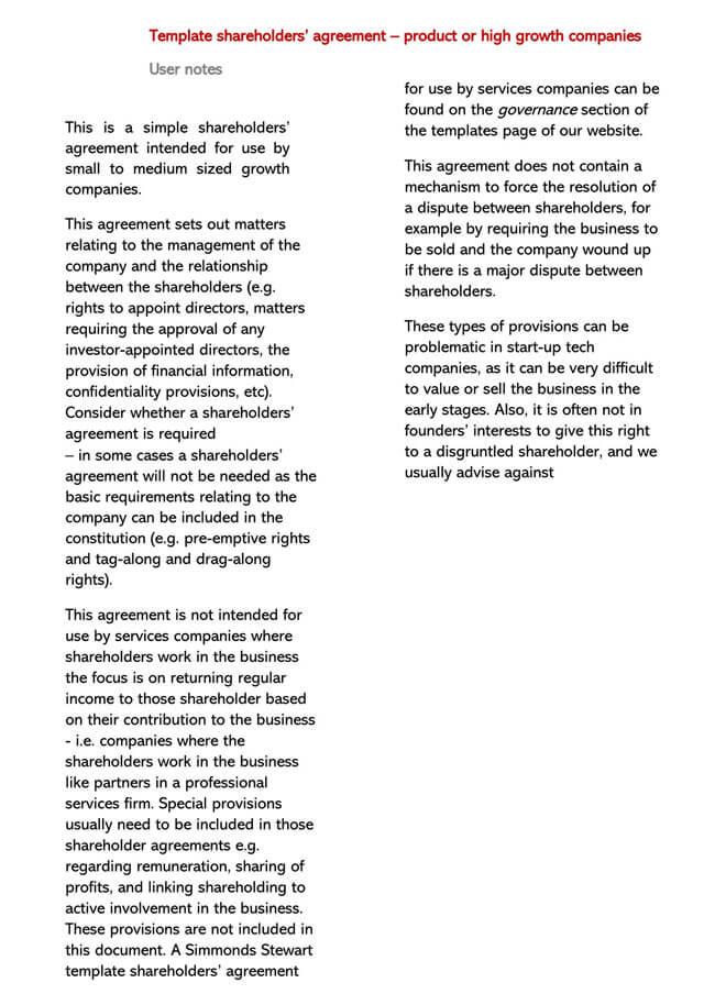 Shareholder Agreement 10