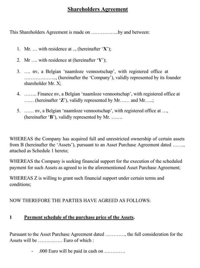 Shareholder Agreement 20